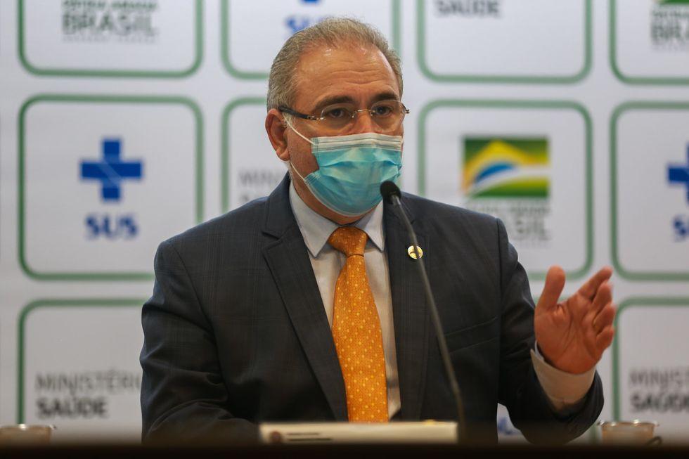 Queiroga diz que kit intubação é responsabilidade dos estados