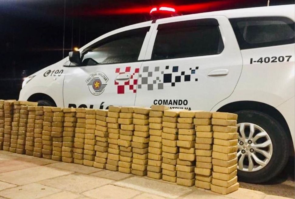 SP bate recorde na apreensão de drogas no primeiro bimestre