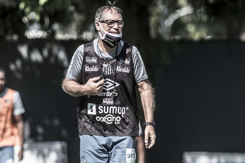 Santos põe time misto contra o Botafogo