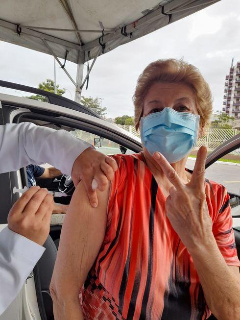Presença: #VacinaSorocaba