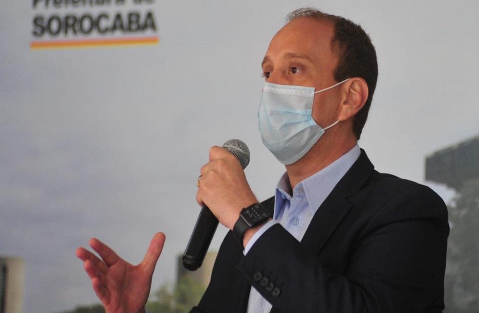 Prefeito de Sorocaba, Rodrigo Manga, anuncia mudanças em medidas restritivas.