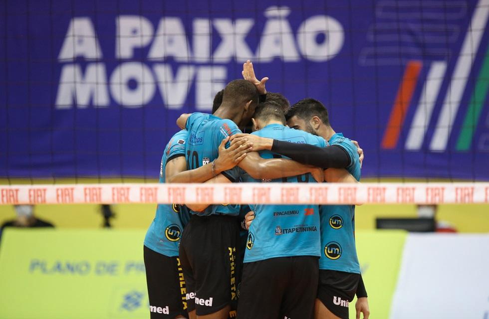 O Itapetininga fez história e chegou até as semifinais da Superliga Masculina de vôlei nesta temporada